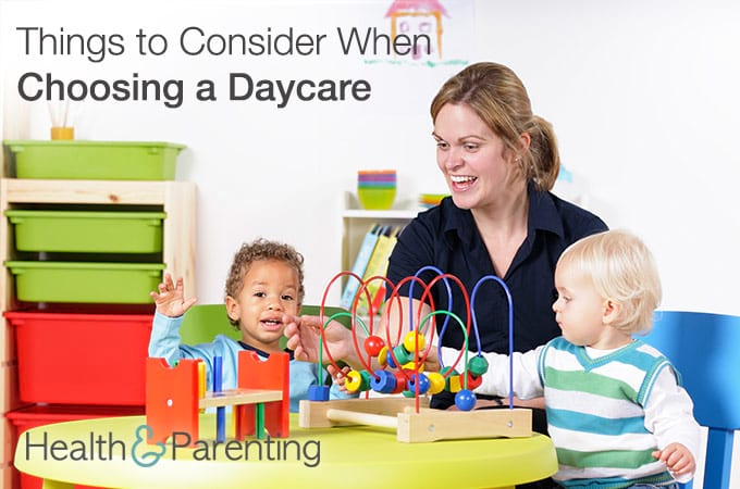 5 Important Things To Consider When Choosing A Daycare