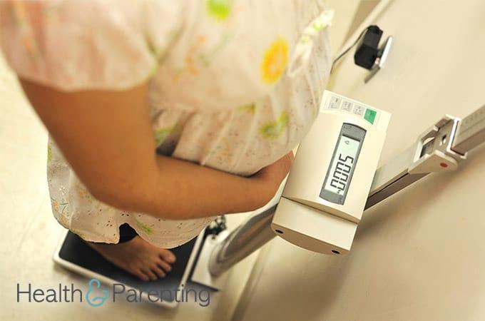 Взвешивание беременных алгоритм